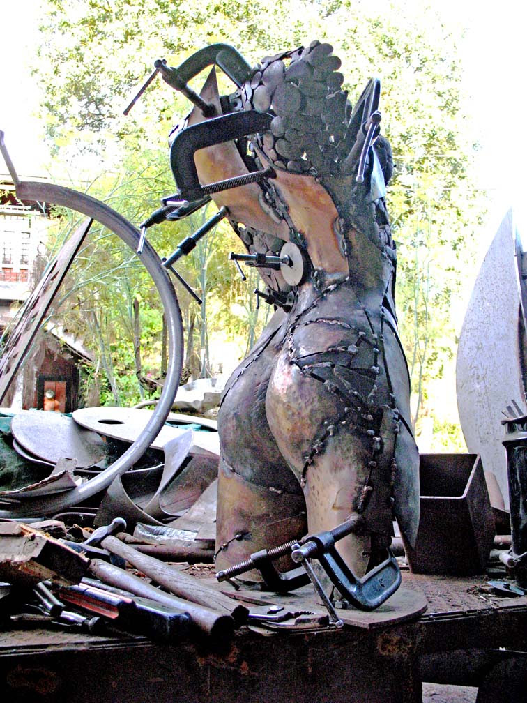 How Do You Form Figure Sculptures All Metalshaping