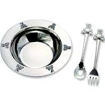 Bear Bowl, Spoon, Fork Set (Length=5.5) (Width=5) Gm6900