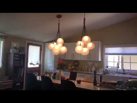 Design dilemma: I need help with mid-century modern overhead lighting