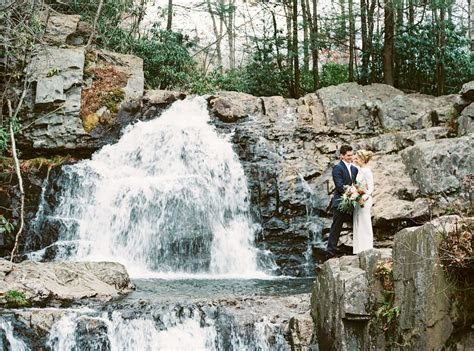 Intimate Pennsylvania Waterfall Elopement: Mallory   Will