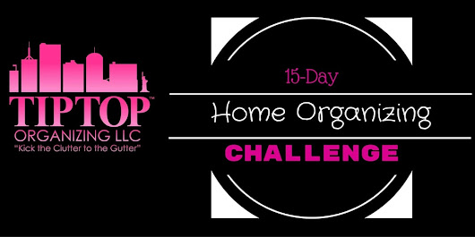 15-Day Home Organizing Challenge
