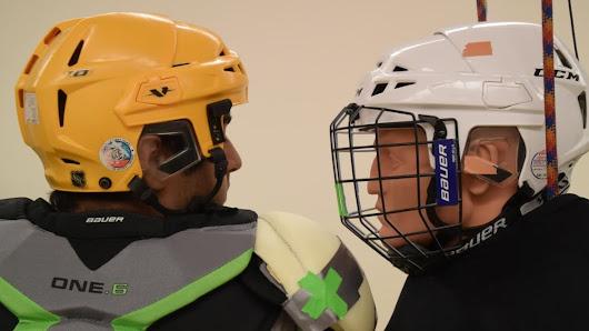 Shoulder pad design could hold the key to reducing hockey concussions says new study