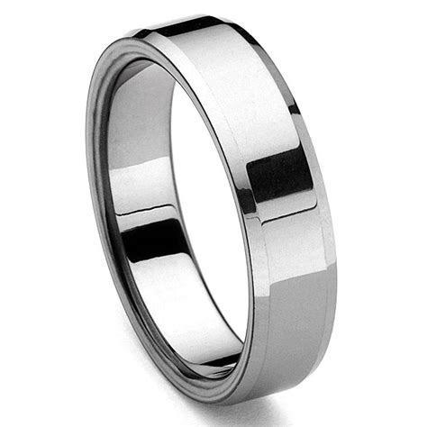 PIATTOE Tungsten Carbide Men's Wedding Ring