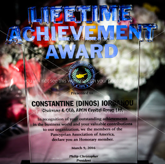 The Lifetime Achievement Award 2016