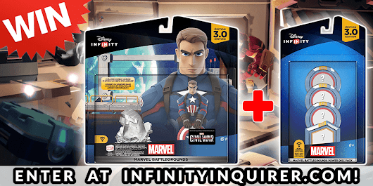 GIVEAWAY: Win The Disney Infinity 3.0 Marvel Battlegrounds Play Set & Power Disc Pack! – Infinity Inquirer
