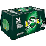 Perrier Sparkling Water, Natural Mineral, Original - 24 pack, 16.9 fl oz