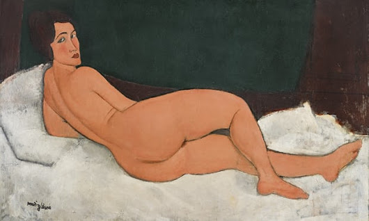 Nu couché by Amedeo Modigliani sold for $157m - ArtOnLine