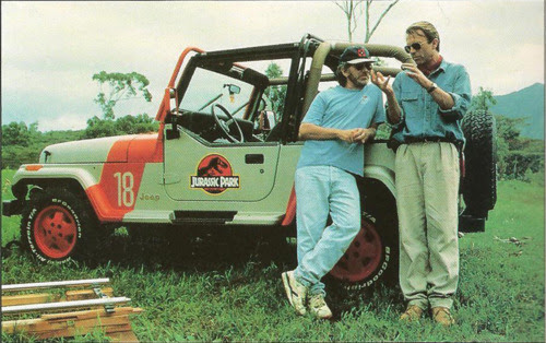 jurassicparkpr:<br /><br />Spielberg and Sam Niel!<br />
