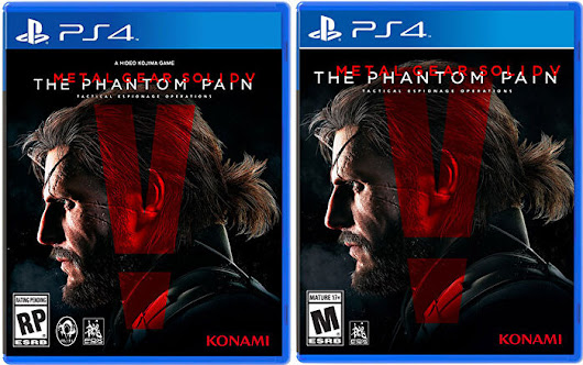 The Phantom Pain's Official Box Art Completes the Konami/Kojima Drama