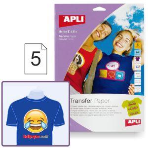 Imprimir camisetas de color - Papel transfer