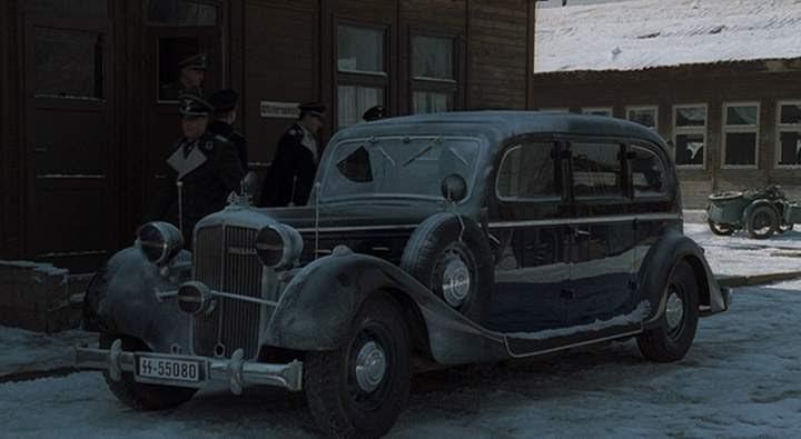 1938 Maybach SW 42 Limousine Spohn