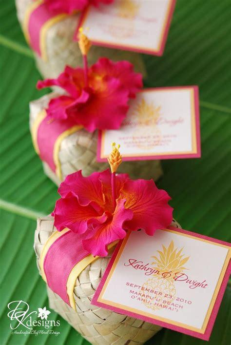 DK Designs: Tropical Wedding Favors   Quinceanera