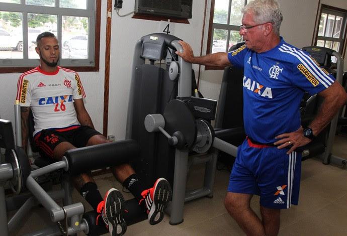 Paulinho treino Flamengo  (Foto: Gilvan de Souza/Flamengo)