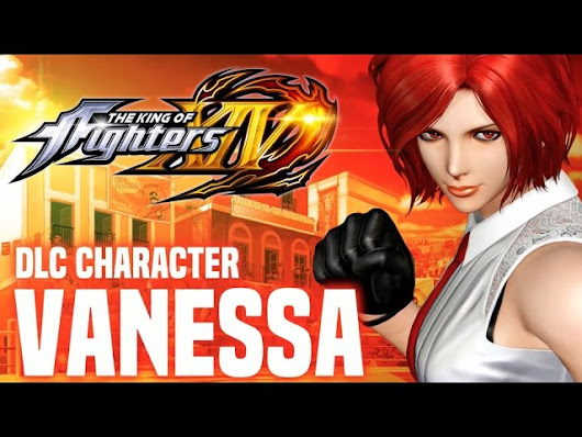 The King of Fighters XIV – Vanessa DLC Character Reveal Trailer