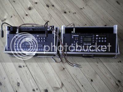 Zviij's Twin Sampler Performance  Setup