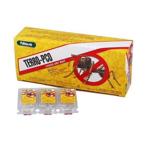 Buy Terro PCO Liquid Ant Bait Stations to Get Rid of Crazy Rasberry at $8.99   Pestmall