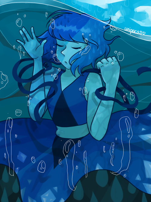 sorry for the inactivity everyone!! i've been really busy with life lately but I'll try to get back into regular updating soon T__Tanyways I drew this for my friend's birthday yesterday bc they rly love lapis!! pls check out their adorable art!!