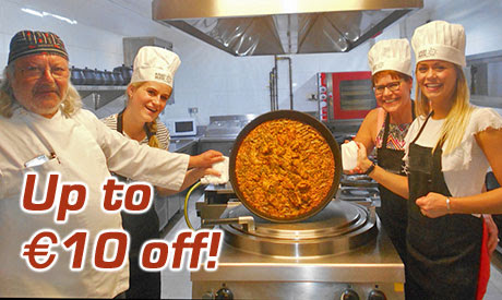 Valencia, Spain - Valencia Paella Classes up to €10 off!
