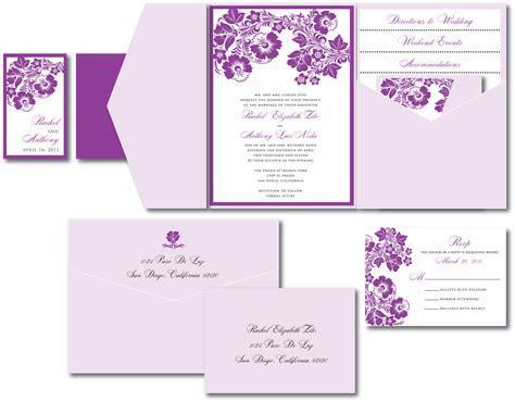Floral Wedding Invitation ? A Vibrant Wedding
