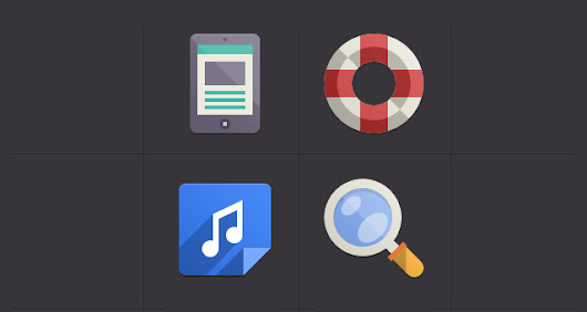 Flat Design Icons Set Vol4 | Media Icons | Pixeden