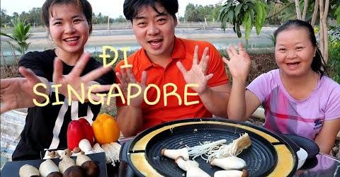 Ăn nấm đùi gà, kim châm nướng-Kế Hoạch, Khi nào về Hàn Quốc