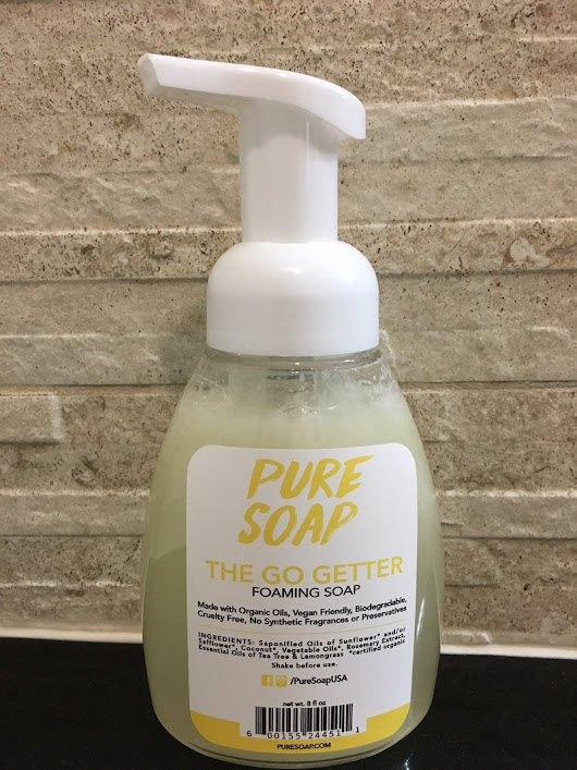 The Go Getter Organic Foaming Soap