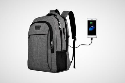 Save $40 on a laptop backpack that has its own USB charging port - AIVAnet