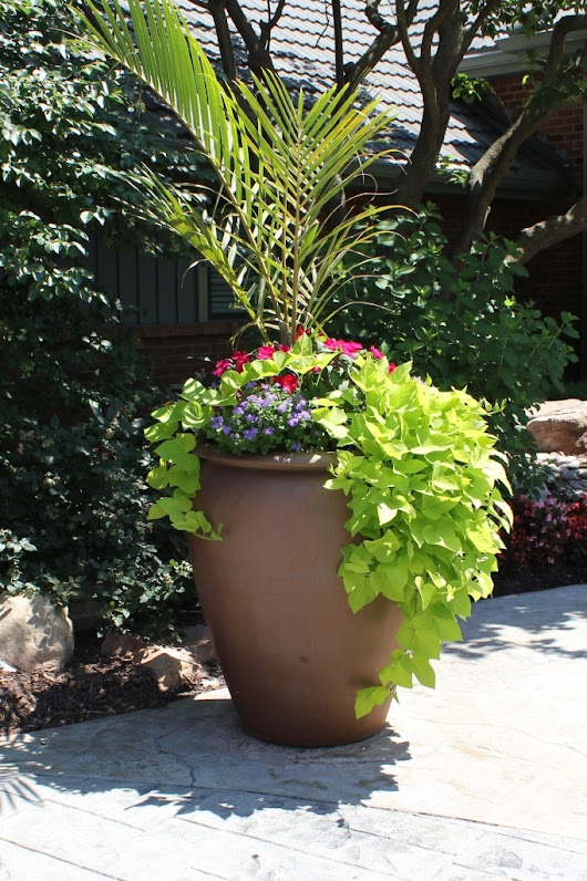 Outdoor Living Landscape - Multi-Season Annual Planters