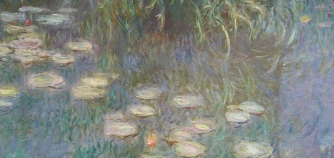 Musée de l'Orangerie lilies painting