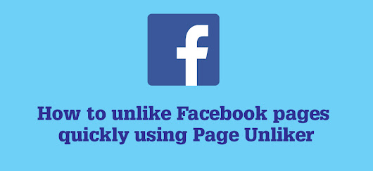 How to unlike Facebook pages quickly | SuperLucky
