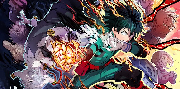 Boku No Hero Academia Wallpaper 4k