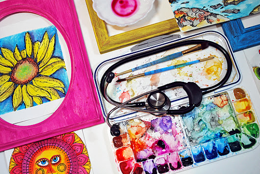 ART FOR YOUR HEALTH: CREATIVE MINDS, AUTISM & ART THERAPY - laura miller: artist. maker. nurse.