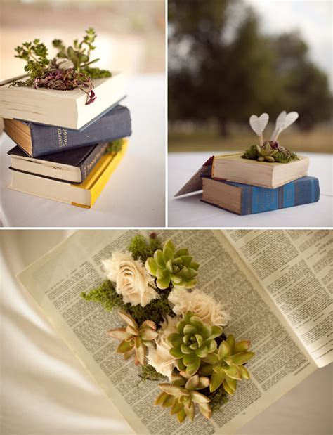Oklahoma DIY Wedding For Book Lovers   Green Wedding Shoes