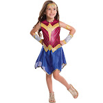 Batman V Superman: Dawn Of Justice - Wonder Woman Costume for Kids - Size Medium
