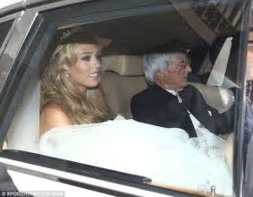 Petra Ecclestone wedding cost £12m: F1 boss Bernie reveals