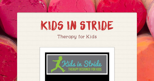 GRAND OPENING ~ Kids in Stride