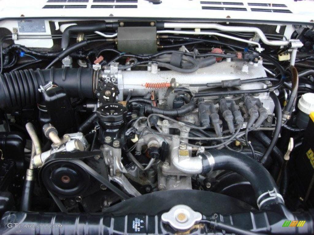 2000 Montero Sport Engine Diagram