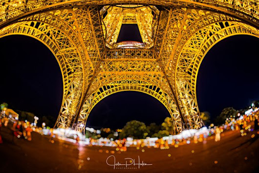 """Eiffel Tower - fishy "" by JohnHoke"