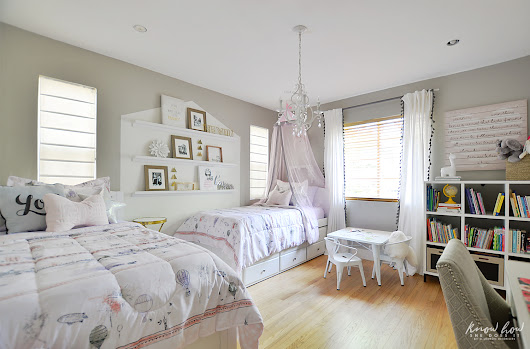 Bringing happiness into a little girls' bedroom - Know How She Does It