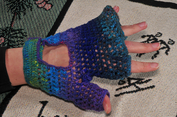 first Weminuche Cycling Glove, designed by me