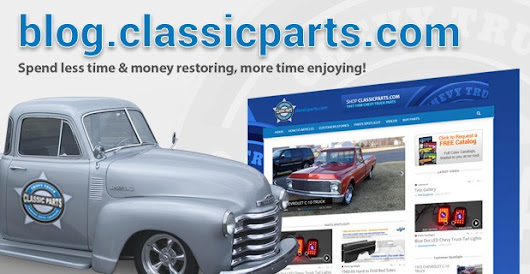 Chevy Truck Parts From Classic Parts of America