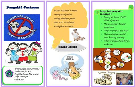 leaflet penyakit cacingan