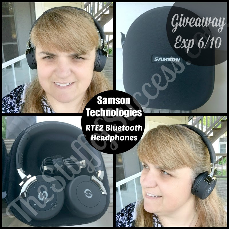 Samson Technologies RTE2 Headphones Giveaway. Ends 6/10