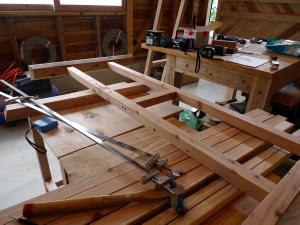 布団干し台を作る