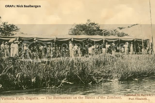 Early Vic Falls, Victoria Falls Regatta- The Restaurant on the Banks of the Zambesi