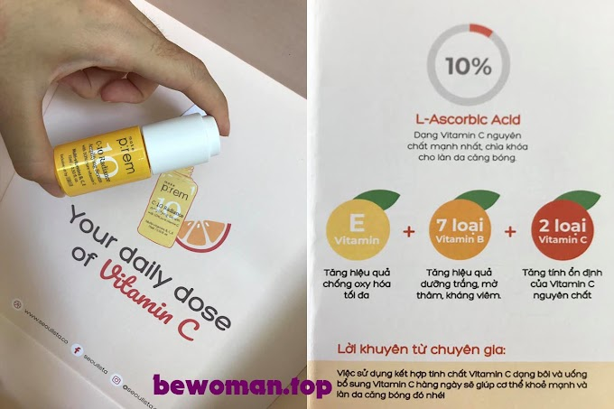 [REVIEW] Vitamin C MAKE P:REM C-10 Radiance Amplifying Serum