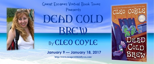 DEAD COLD BREW by Cleo Coyle review and blog tour - Sleuth Cafe