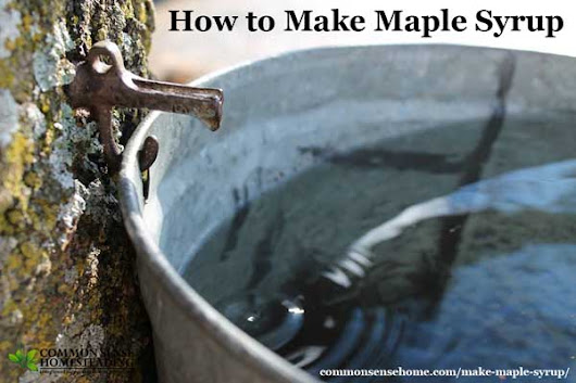 How to Make Maple Syrup and Maple Syrup Substitute