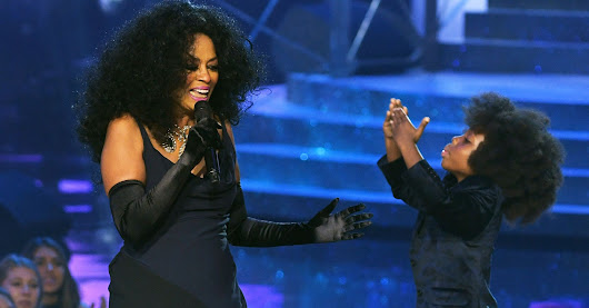 Diana Ross' Grandson Stole The Show During Her AMA Performance | HuffPost