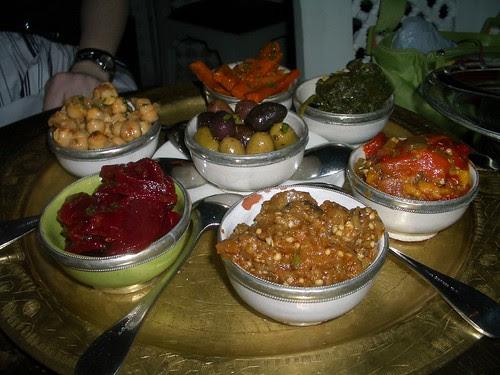 Sample Platter from Casablanca Tea Room